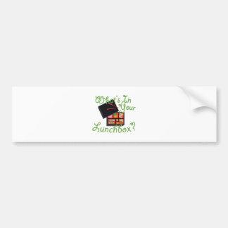 Your Lunch Box Bumper Sticker