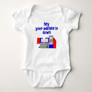 Your Machine's Down Baby Bodysuit