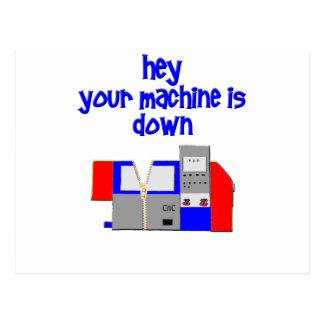 Your Machine's Down Postcard