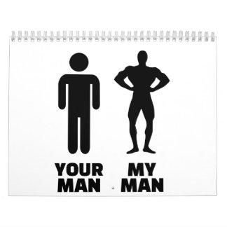Your man my man calendar