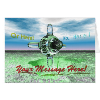 YOUR MESSAGE HERE! - Limited time offer Card