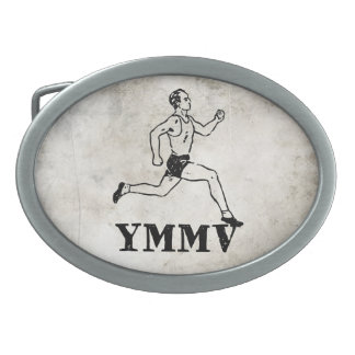 Your Mileage May Vary Belt Buckle