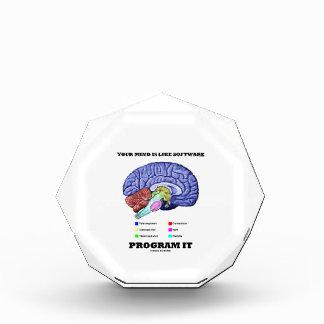 Your Mind Is Like Software Program It (Brain) Award
