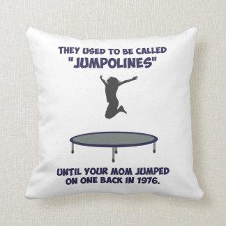 trampoline pillows decorative throw pillows zazzle. Black Bedroom Furniture Sets. Home Design Ideas