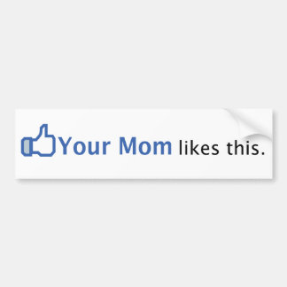 Your Mom Likes This Bumper Sticker