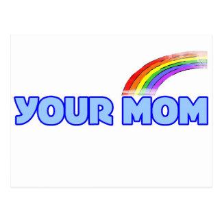Your Mom Postcard