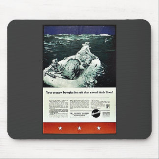 Your Money Bought The Raft That Saved Their Lives! Mouse Pad