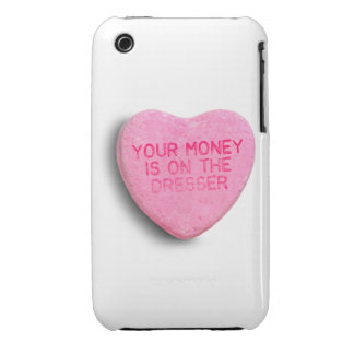 Your Money is on the Dresser iPhone 3 Cases