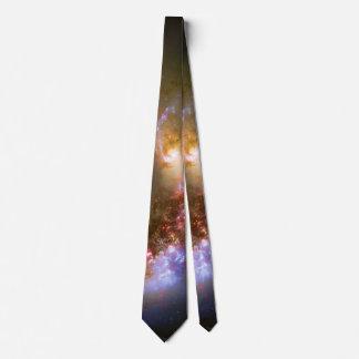 Your monogram initials - The Antennae Galaxies Tie