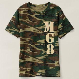 Your Monogram on Camouflage Decor T Shirt