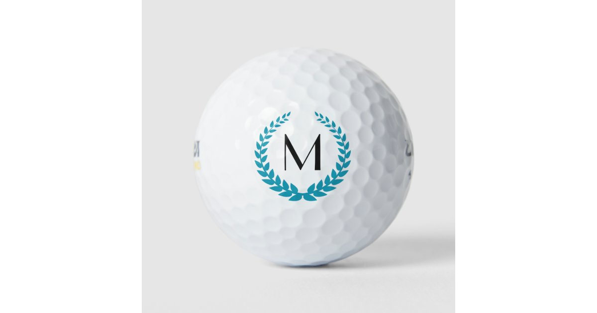 Your Monogram Personalized Golf Balls Zazzle Com