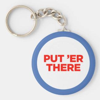 Your Monster Maker Tie Basic Round Button Keychain
