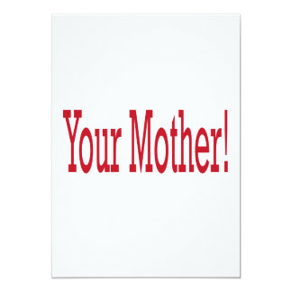 Your Mother Card
