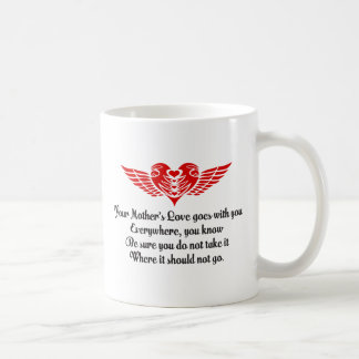 Your Mother's Love Poem Coffee Mugs