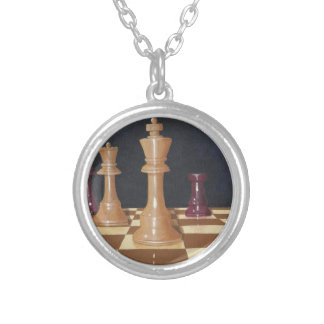 Your Move Silver Plated Necklace