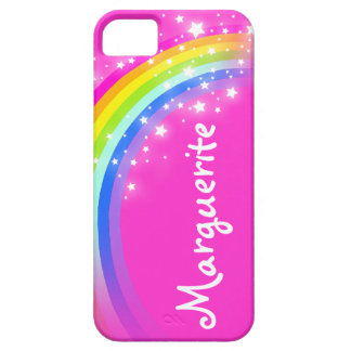 Your name (10 letter) rainbow pink iphone case iPhone 5 case