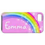 Your name 4 letter rainbow light pink iphone case iPhone 5 cover