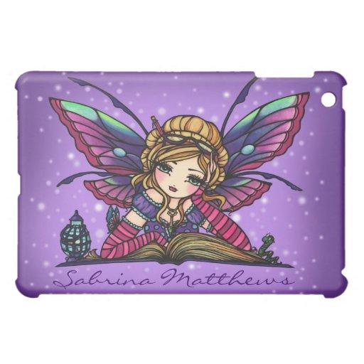 """""""Your Name"""" Bookworm Fairy Fantasy Art Hannah Lynn Case For The iPad Mini"""