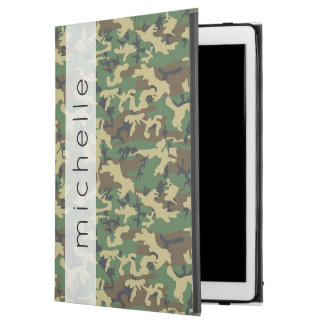 "Your Name - Camouflage Pattern - Brown Yellow iPad Pro 12.9"" Case"