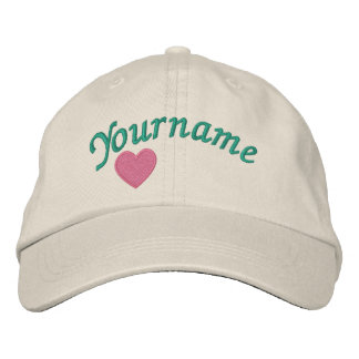Your Name - Cap Embroidered Baseball Caps