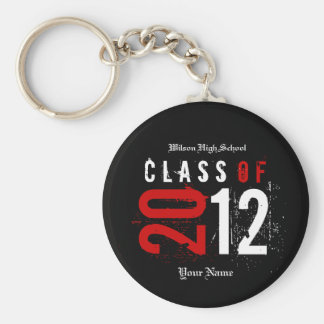 """your name"" Class of 2012 Key-Chain Keychains"