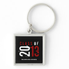 """""""your name"""" Class of 2013 Key-Chain Key Chain"""