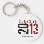 """your name"" Class of 2013 Key-Chain Keychain"