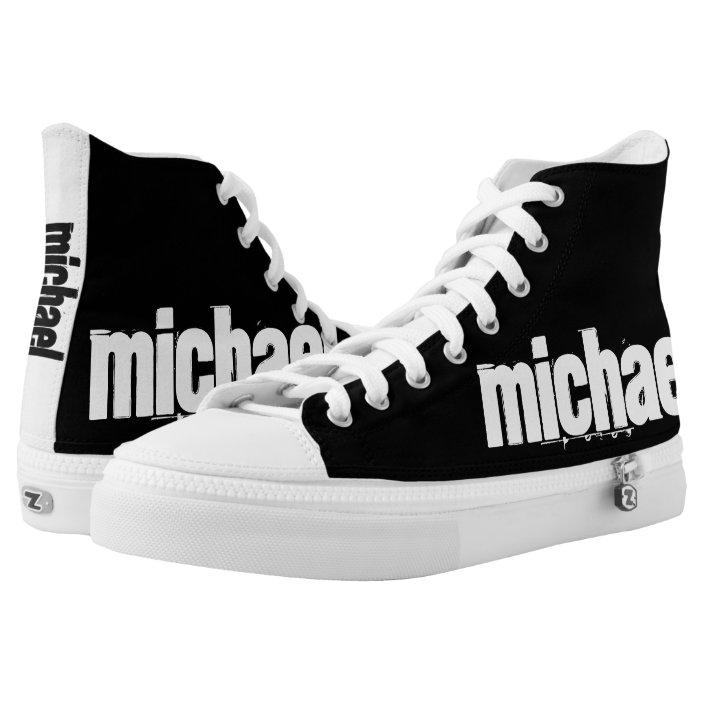 YOUR NAME Custom Shoes | Zazzle.com