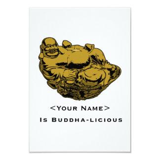 "<Your Name> Es Buda-lcious Invitación 3.5"" X 5"""