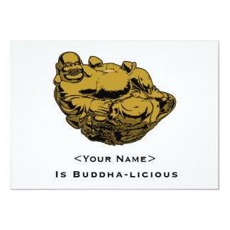 "<Your Name> Es Buda-lcious Invitación 5"" X 7"""