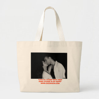 """YOUR NAME ETCHED IN MY HEART"" TOTE BAG"