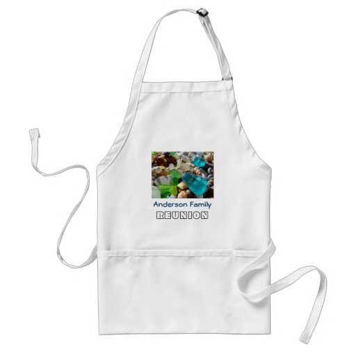 Your Name Family REUNION BBQ apron Dinner