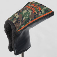YOUR NAME Golf Head Cover Camo Personalize