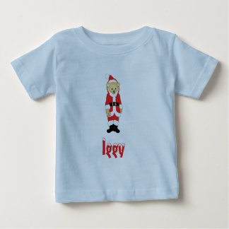 Your Name Here! Custom Letter I Teddy Bear Santas Shirt