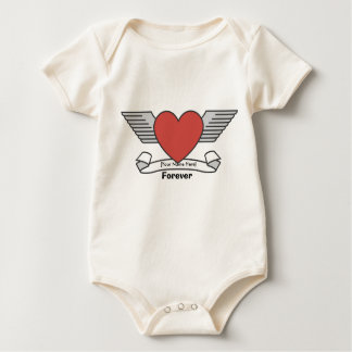 [Your Name Here] Forever Heart Tattoo Bodysuits