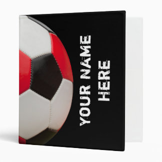 Your Name Here Soccer Binder