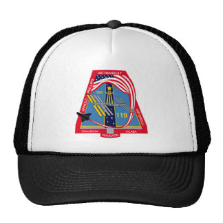 YOUR_NAME_HERE STS-119 Logo Trucker Hat