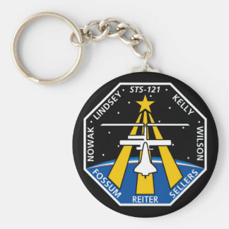 YOUR_NAME_HERE STS-121 Logo Keychain