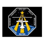 YOUR_NAME_HERE STS-121 Logo Post Card