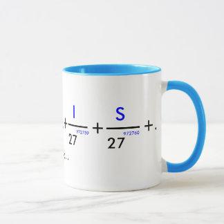 Your name in pi - customizable! mug