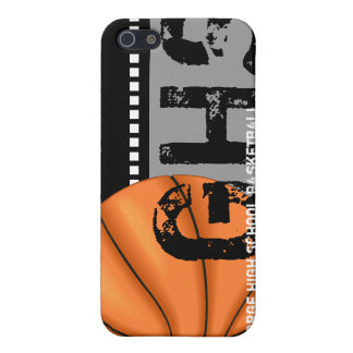 Your Name iPhone 4 Speck Case Basketball