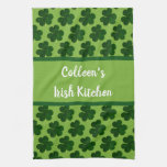 Your Name Irish Kitchen St Patrick's Day Kitchen Towel