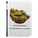 <Your Name> Is Buddha-lcious Kindle Case