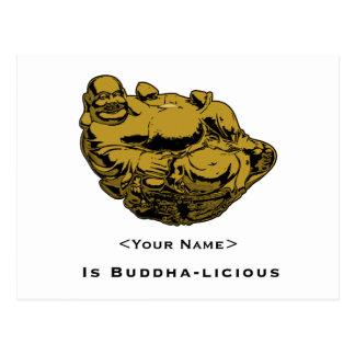 <Your Name> Is Buddha-lcious Postcard