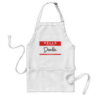 """""""Your Name is Doodle"""" Adult Apron"""