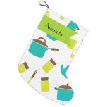 Your Name - Kitchen Utensils, Cookware, Cutlery Small Christmas Stocking