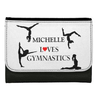 """YOUR NAME"" Loves Gymnastics Wallet"