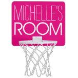 Your Name Mini Basketball Backboards