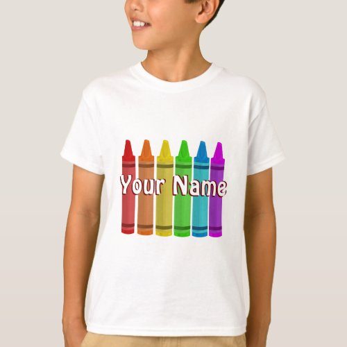 Your Name on a Shirt Template