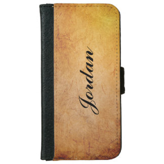 Your name on Iphone 6 Wallet Case